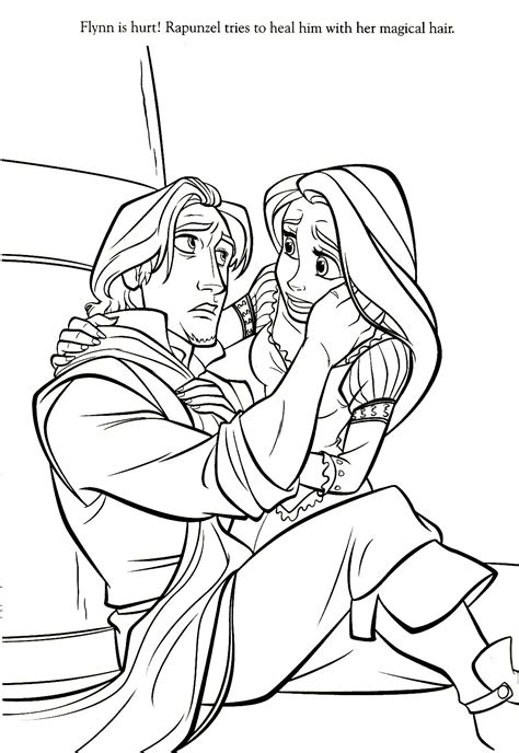 disney princess coloring pages rapunzel and flynn disney princess coloring pages rapunzel and flynn