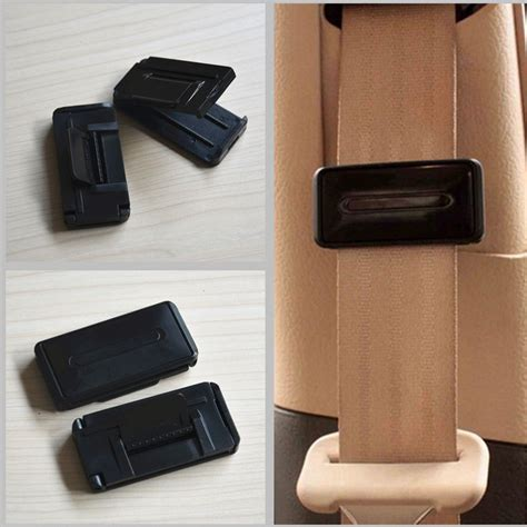 seat belt comfort clips 2x car seat belt adjuster clip belt strap cl shoulder