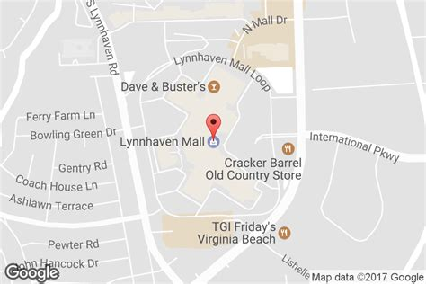 lynnhaven mall map mall hours address directions lynnhaven mall