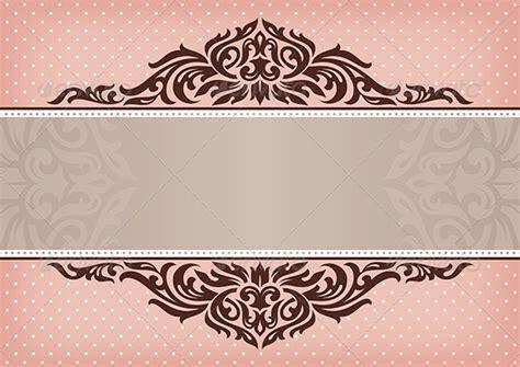 vintage floral frame backgrounds border frames ppt vintage floral frame by selenamay graphicriver