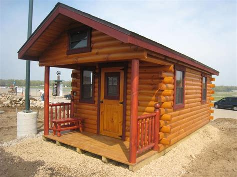 10 x 20 cabin kit trophy amish cabins llc 10 x 20 200 s f