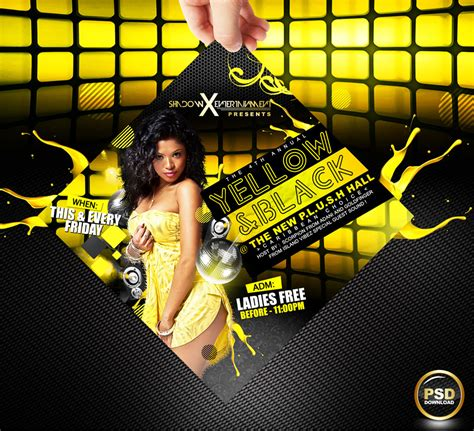free party flyer psd templates download styleflyers