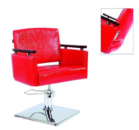 china red styling chair   china salon chair styling chair