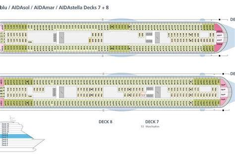 aida deck aidastella schiffsportrait alle informationen zum schiff