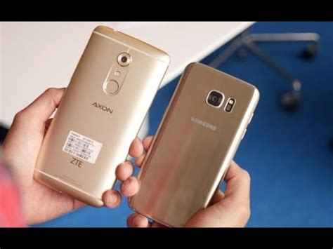 Samsung Zte Zte Axon 7 Vs Samsung Galaxy S7 Edge Comparison