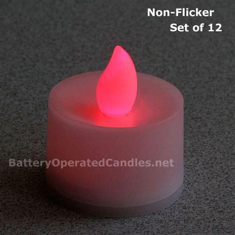 flicker lights battery operated no flicker flameless tea lights led battery