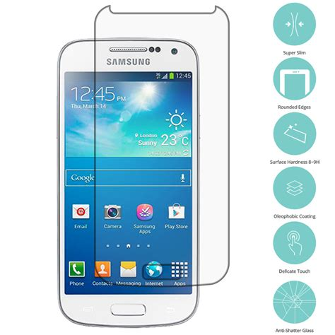 Tempered Glass Titan Samsung Galaxy S4 Mini I9190 clear tempered glass screen protector clear for samsung galaxy s4 mini i9190