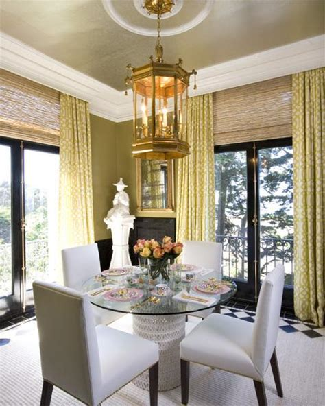 dining room drapes trellis curtains eclectic dining room tish key