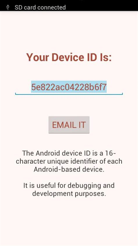 device id android find device id pro android apps on play