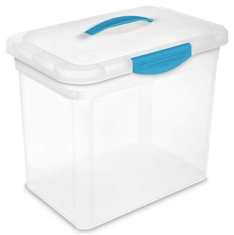 Sterilite Tubs sterilite 1896 large showoffs storage container