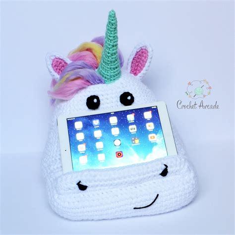 pattern for tablet holder alice the unicorn crochet book tablet holder pattern