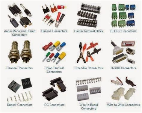 electrical engineering world types of connectors