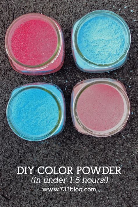 diy color run powder diy colored powder fast inspiration made simple