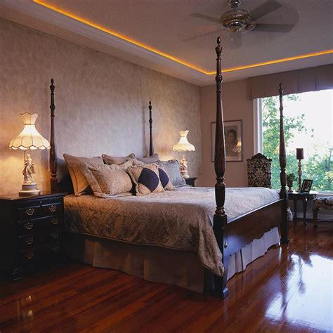 master bedrooms  hardwood floors