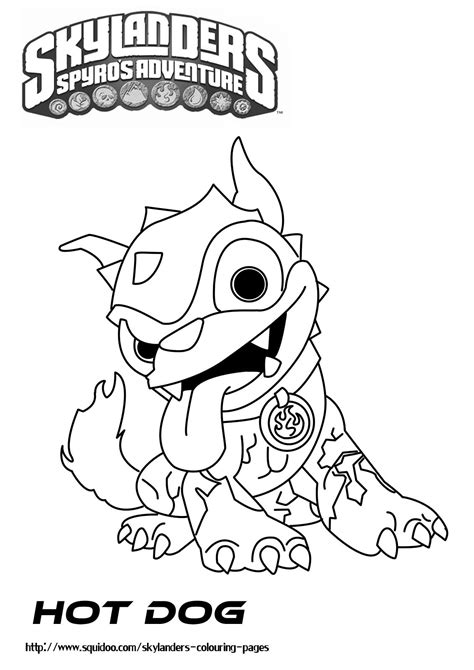 coloring pages skylanders free coloring pages of er skylander