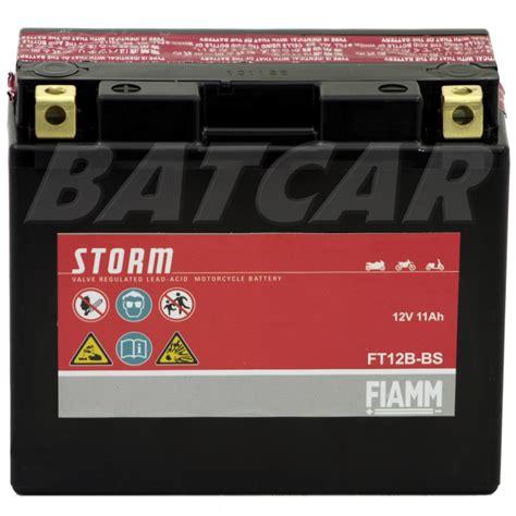Motorrad Batterie Gt12b 4 by Agm Motorradbatterie Fiamm Ft12b Bs 12v 11ah Yt12b Bs