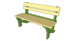 simple outdoor bench plans attaching the slats free garden plans how to build