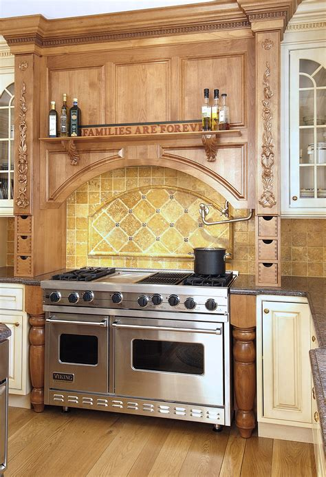 Kitchen Range Backsplash | spice up your kitchen tile backsplash ideas