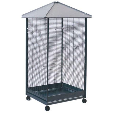 gabbie per canarini gabbia voliera zincata per uccelli damo 405 90 colore grigio