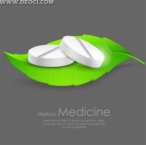 free green pills creative advertising poster design