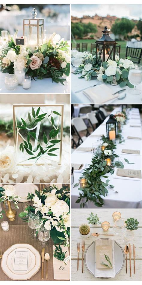 25  best ideas about Greenery centerpiece on Pinterest