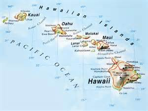 hawaiian islands maps pictures map of hawaii cities and