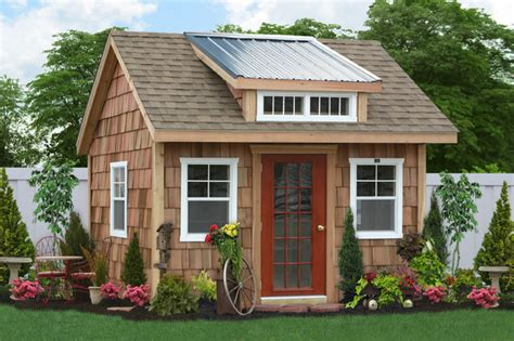 backyard garages backyard shed spaces studios and offices traditional