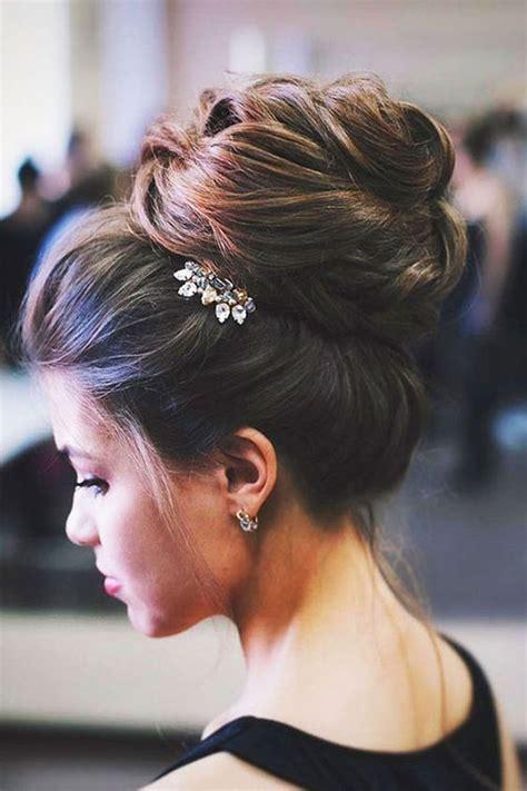 amazing bun hairstyle  wedding hairstyles