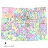 county map of colorado with zip codes editable colorado map with counties zip codes