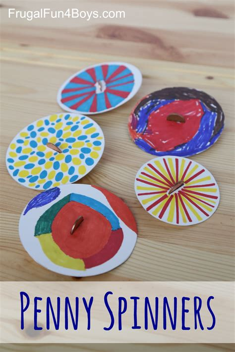 7 Easy Activities To Do - spinners tops that can make