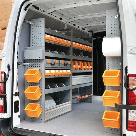 scaffali per furgoni prezzi allestimento furgoni renault con scaffali e cassettiere