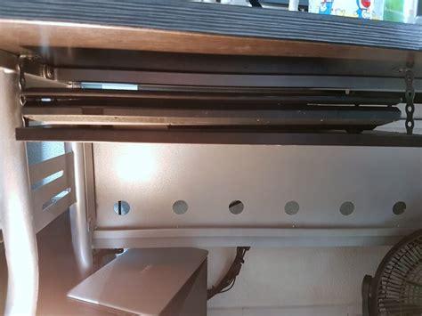desk laptop mount 15 underdesk laptop shelf mount ikea hackers ikea hackers