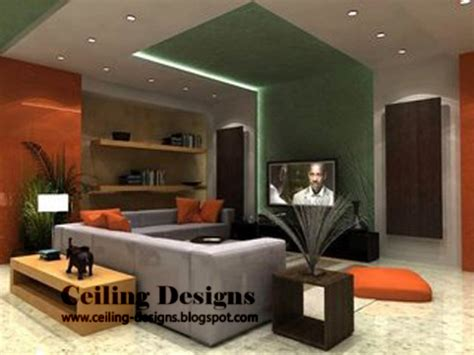 Design Of False Ceiling In Living Room False Ceiling Designs For Living Room Part 1