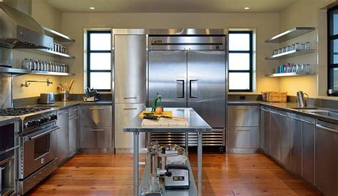 Stainless Steel Kitchen Cabinets   SteelKitchen