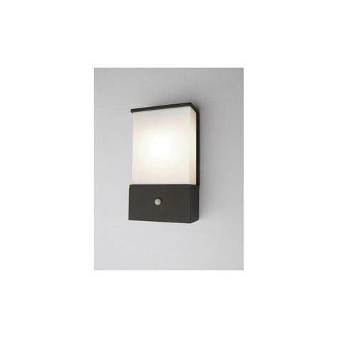 Outdoor Wall Lights With Pir Az Le6 Pir Azure Exterior Low Energy Wall Light With Pir Ip44 Lighting From The Home Lighting