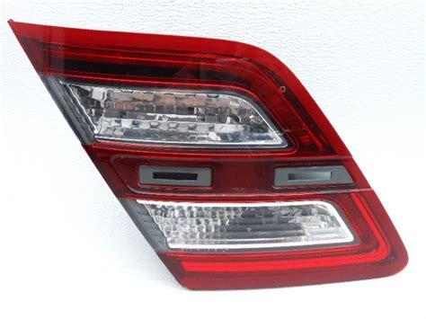 2013 ford flex light assembly oem 2013 2015 ford taurus rear left lid led light