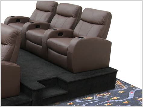 build home theater seat risers home cinema furniture home decorating excellence