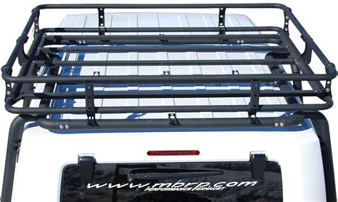 Cargo Rack For Jeep Wrangler by Camber Fabrications 130822 Cargo Basket For 07 17 Jeep