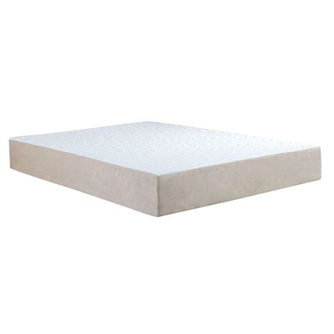 Memory Foam Mattress remedy pedic king size 10 in comfort gel memory foam mattress shop your way