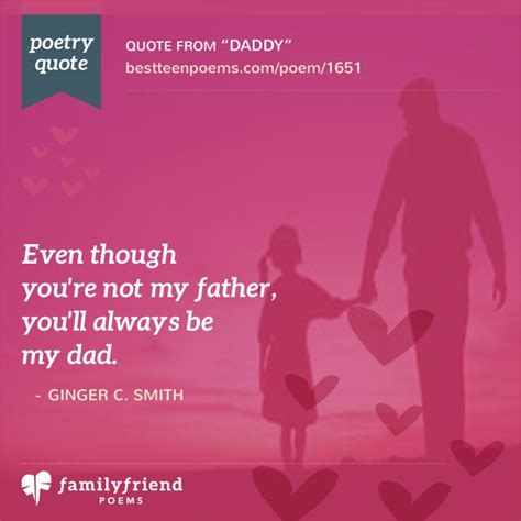 step fathers day poems s day poem for