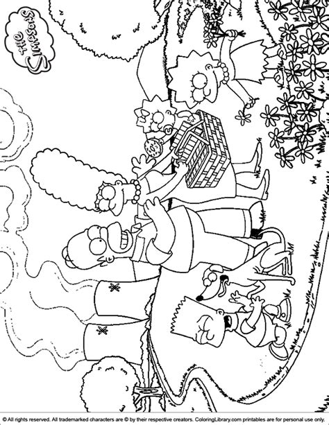 simpsons house coloring page simpsons coloring picture