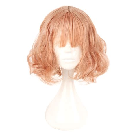 Wig Cowok Korea Harajuku 04 mcoser japan and south korea wig air paragraph with daily harajuku pink gold wig