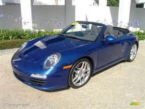 Porsche Blue Colors 2009 Aqua Blue Metallic Porsche 911 S Cabriolet