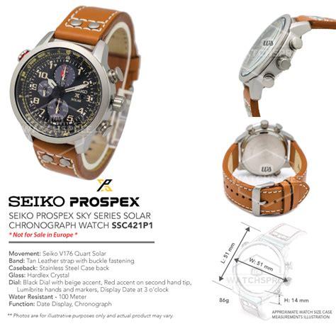 Seiko Prospex Sky Ssc611p1 Solar Chronograph Black Leather seiko prospex solar chronograph ssc421p1 ebay