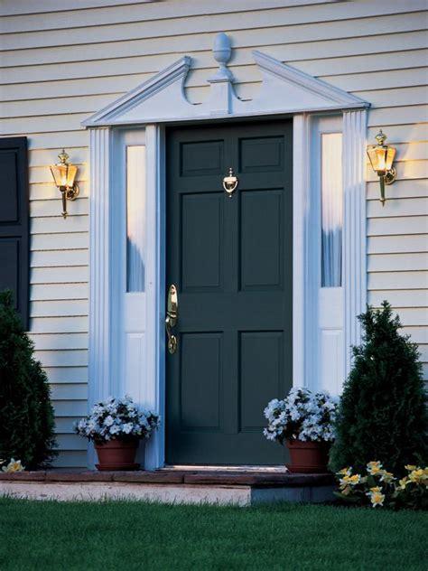 Hgtv Front Doors Install A New Front Door Hgtv