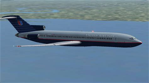 united flight united airlines boeing 727 200 adv for fsx
