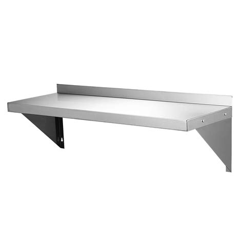stainless steel wall shelf 1 8m commercial catering