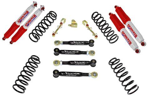 93 Jeep Wrangler Lift Kit Skyjacker Suspension 3 Quot Value Flex Lift Kit With Nitro