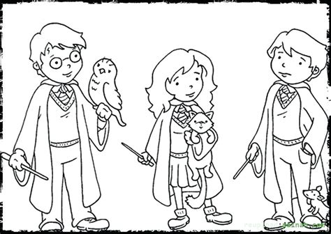 Harry Potter Coloring Pages Color By Number