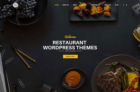Best Resume Wordpress Theme by 30 Best Wordpress Restaurant Themes 2018 Colorlib